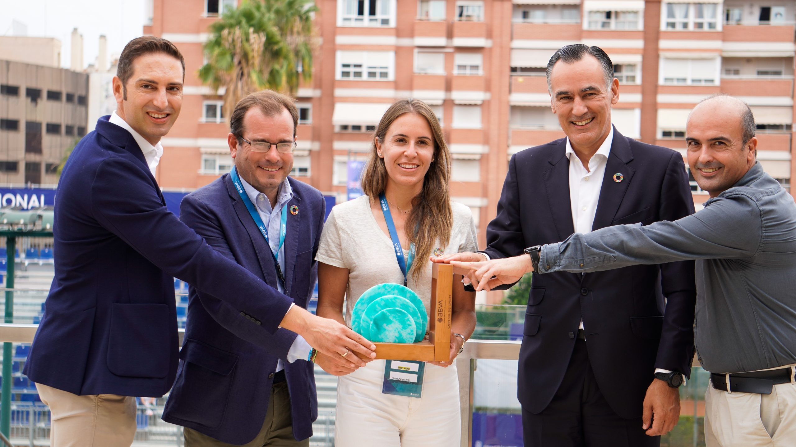 THE BBVA INTERNATIONAL OPEN OF VALENCIA WILL BECOME THE FIRST TOURNAMENT ON THE CALENDAR TO OFFSET ITS ENTIRE CARBON FOOTPRINT