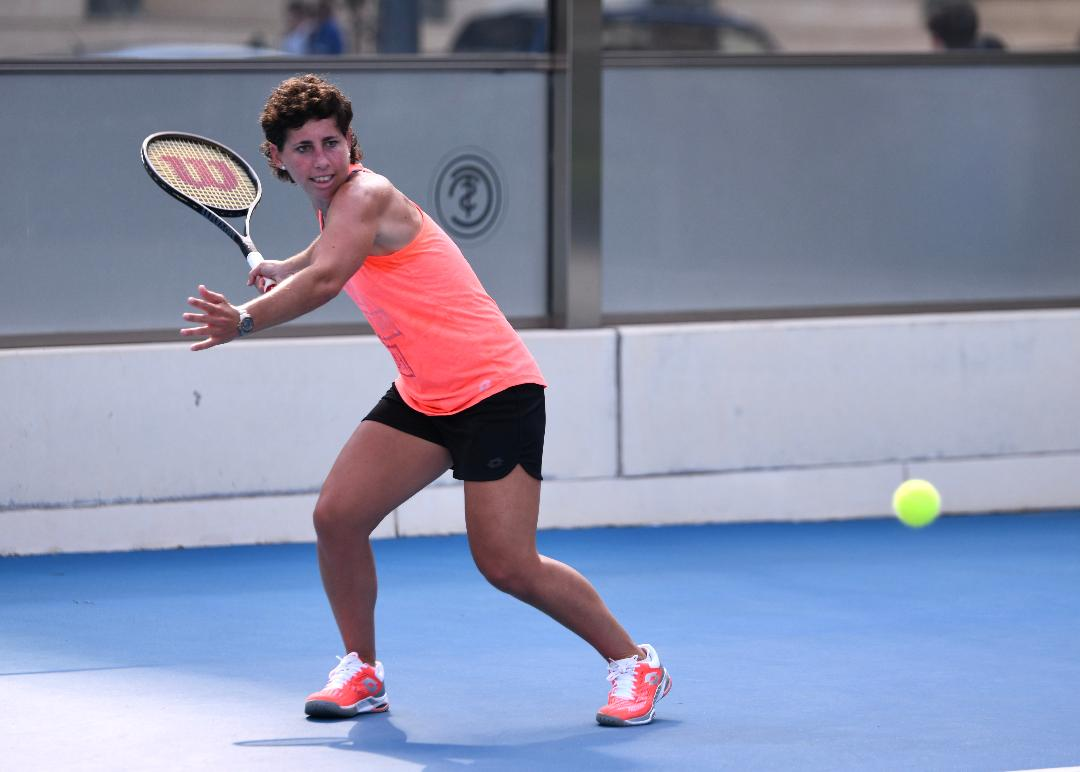 CARLA SUÁREZ REAPPEARS IN AN OFFICIAL TOURNAMENT WITH HER TWO-DAY VISIT TO THE BBVA INTERNATIONAL OPEN OF VALENCIA